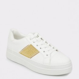 Pantofi sport ALDO albi, Thayrien, din piele ecologica