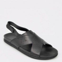 Sandale ALDO negre, Cleveleys, din piele naturala