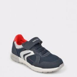 Pantofi sport pentru copii GEOX bleumarin, J846Nc, din material textil
