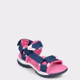 Sandale pentru copii GEOX bleumarin, J720Wa, din material textil