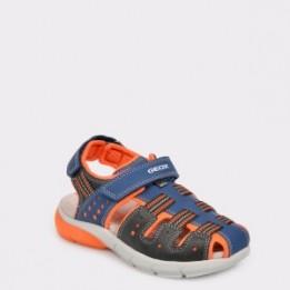 Sandale pentru copii GEOX bleumarin, J929Dd, din material textil