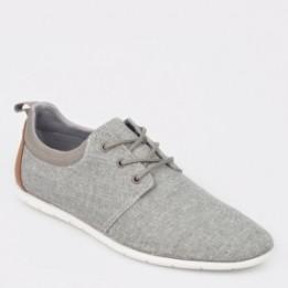 Pantofi ALDO gri, Ermengaud, din material textil