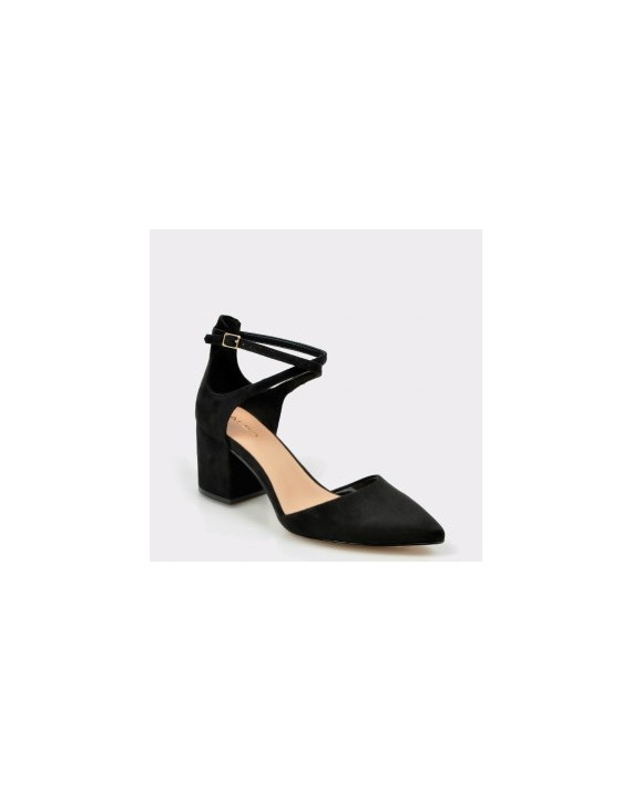 Pantofi ALDO negri, Brookshear, din material textil