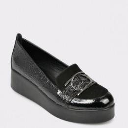 Pantofi FLAVIA PASSINI negri, BL3148, din piele naturala