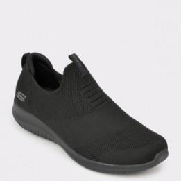 Pantofi sport SKECHERS negri, 12837, din material textil