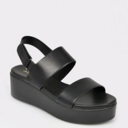 Sandale ALDO negre, Agrerinia, din piele ecologica