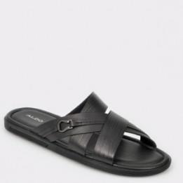 Sandale ALDO negre, Tayrien, din piele naturala