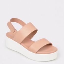 Sandale ALDO roz, Agrerinia, din piele ecologica