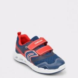 Pantofi pentru copii GEOX bleumarin, B922Pb, din material textil