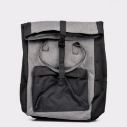 Rucsac MAIO FERRETTI gri, Bb55, din material textil