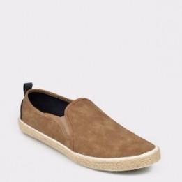 Pantofi BUGATTI verzi, 72600, din piele ecologica