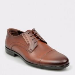 Pantofi OTTER maro, K01, din piele naturala