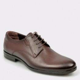 Pantofi OTTER maro, K03, din piele naturala