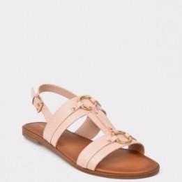Sandale ALDO nude, Adeindra, din piele ecologica