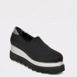 Pantofi FLAVIA PASSINI negri, HK9275, din material textil