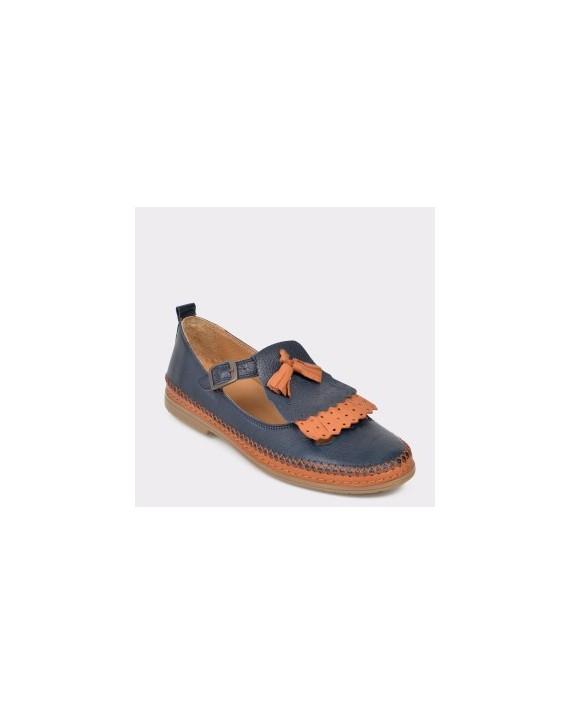 Pantofi FLAVIA PASSINI bleumarin, N02, din piele naturala