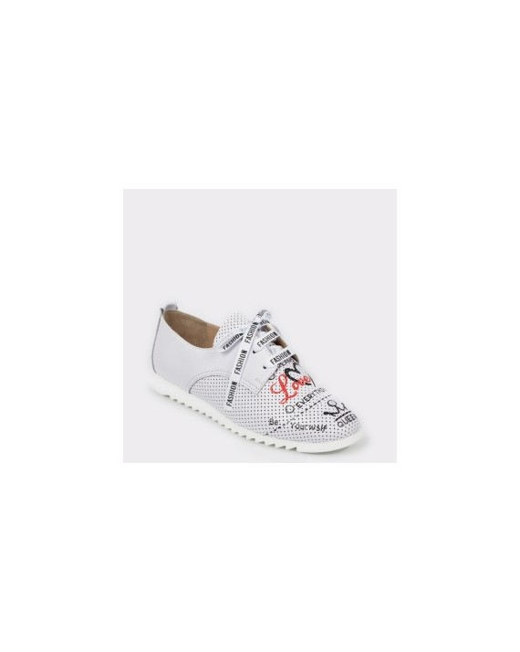Pantofi FLAVIA PASSINI gri, 2282095, din piele naturala