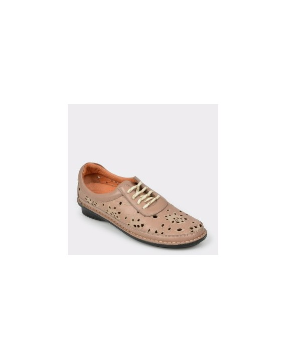 Pantofi FLAVIA PASSINI nude, 3394017, din piele naturala