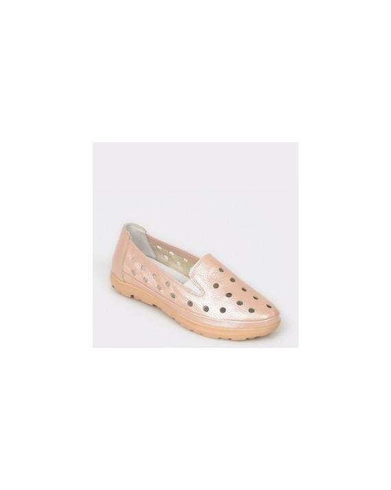 Pantofi FLAVIA PASSINI nude, 521, din piele naturala