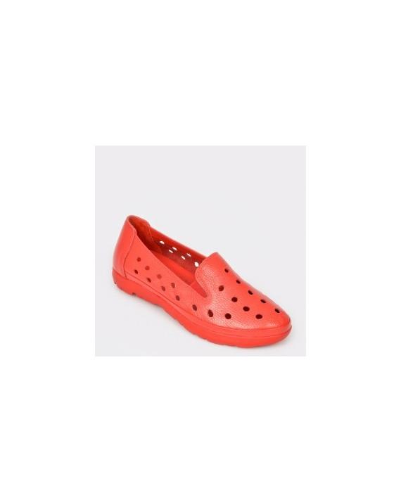 Pantofi FLAVIA PASSINI rosii, 521, din piele naturala
