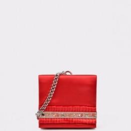 Poseta EPICA rosie, 84586, din material textil