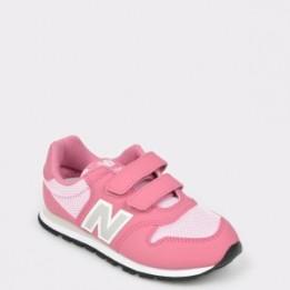Pantofi sport pentru copii NEW BALANCE roz, Yv500, din piele ecologica