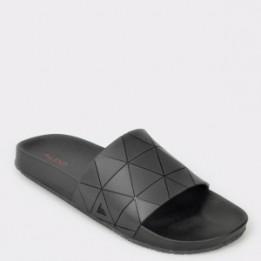 Papuci ALDO negre, Thelidien, din PVC
