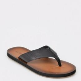 Sandale ALDO negre, Thymel, din piele ecologica