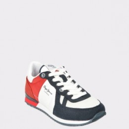 Pantofi sport pentru copii PEPE JEANS multicolori, Bs30391, din material textil