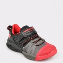 Pantofi sport pentru copii SKECHERS negri, 97940L, din material textil