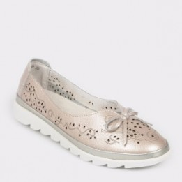Pantofi FLAVIA PASSINI roz, 1806, din piele naturala