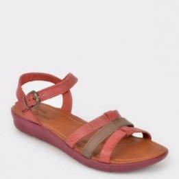 Sandale FLAVIA PASSINI rosii, 37806, din piele naturala