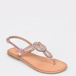 Sandale pentru copii SELECTION KIDS roz, 10688, din piele naturala