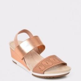Sandale aurii, 7123111, din piele ecologica