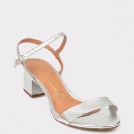 Sandale VIZZANO argintii, 6291100, din piele ecologica