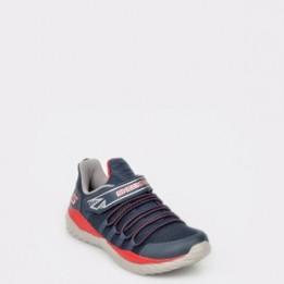 Pantofi sport pentru copii SKECHERS negri, 97766L, din piele ecologica