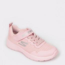 Pantofi sport pentru copii SKECHERS roz, 81303L, din material textil