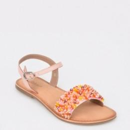 Sandale pentru copii SELECTION KIDS roz, Sh08, din piele naturala