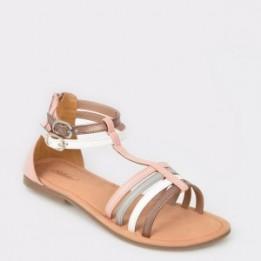 Sandale pentru copii SELECTION KIDS roz, Sh10, din piele naturala