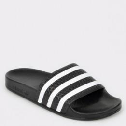 Papuci ADIDAS negri, 280647, din PVC