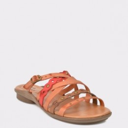 Papuci FLAVIA PASSINI maro, 37313, din piele naturala