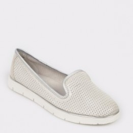 Pantofi FLAVIA PASSINI argintii, 2W2026, din piele naturala