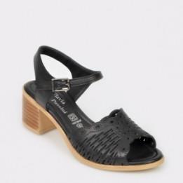 Sandale FLAVIA PASSINI negre, 9255, din piele naturala