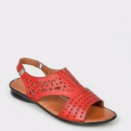 Sandale FLAVIA PASSINI rosii, 71301, din piele naturala