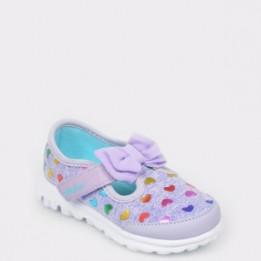 Pantofi sport pentru copii SKECHERS mov, 81162N, din material textil