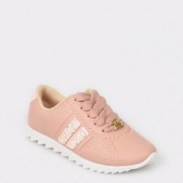Pantofi sport pentru fetite roz, 2512105, din piele ecologica