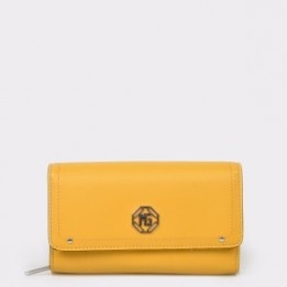 Portofel MARINA GALANTI galben, 561591, din piele ecologica