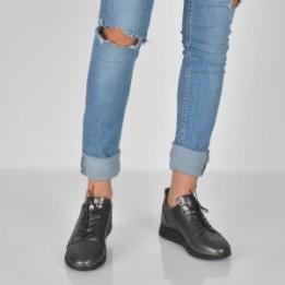 Pantofi FLAVIA PASSINI negri, 18222, din piele naturala