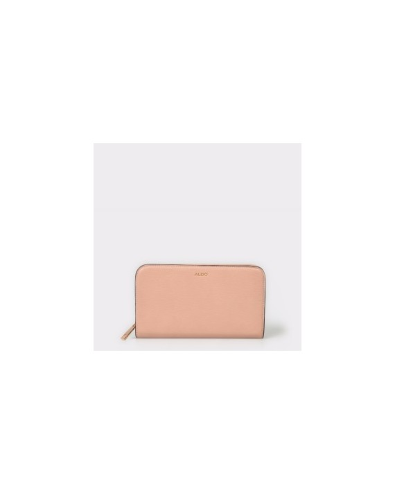 Portofel ALDO roz, Ganim, din piele ecologica