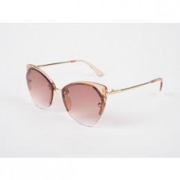 Ochelari de soare EPICA aurii, 1806005, din PVC